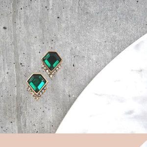 NWT Emerald Stud Earrings